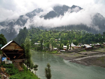 thmb0870Foggy view of a village in Neelam Valley, Jammu & Kashmir.jpg